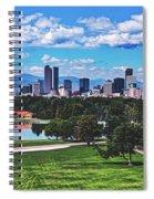 Denver City Park Spiral Notebook