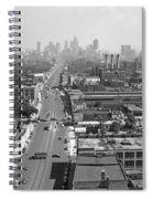 Detroit 1942 Spiral Notebook