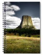 Devil's Tower - Wyoming Spiral Notebook