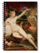 Diana At The Bath Spiral Notebook
