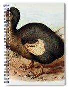 Dodo Bird Raphus Cucullatus, Extinct Spiral Notebook
