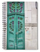 Doors Of Portugal  Spiral Notebook