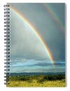 Double Rainbow Spiral Notebook