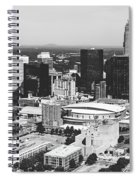 Downtown Charlotte Spiral Notebook