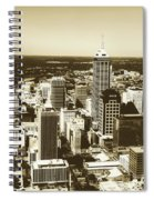 Downtown Indianapolis Spiral Notebook