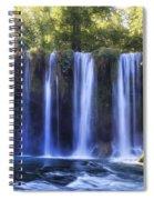 Duden Waterfall - Turkey Spiral Notebook