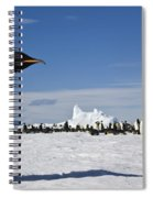 Emperor Penguin Spiral Notebook