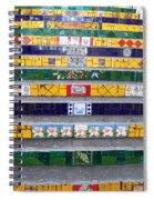 Escadaria Selaron In Rio De Janeiro Spiral Notebook