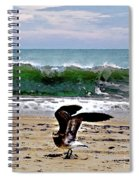 Expecting To Fly Spiral Notebook