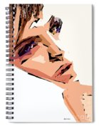 Female Expressions Xii Spiral Notebook