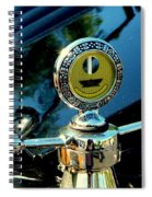 Female View At A Car Show Spiral Notebook