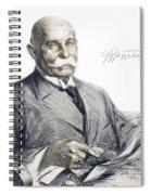 Ferdinand Von Zeppelin Spiral Notebook