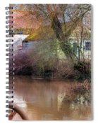 Fiddleford Mill - England Spiral Notebook