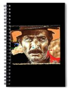 Film Homage Lee Van Cleef Spaghetti Westerns Publicity Photo Collage 1966-2008 Spiral Notebook