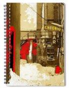 Film Noir William H. Macy Steve Buscemi Fargo 1996 Cheerio Bar Aberdeen South Dakota 1965-2008 Spiral Notebook