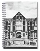 Fine Arts Building - Ball State University Spiral Notebook