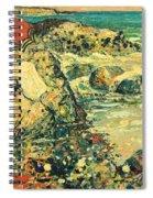 Flecks Of Foam Spiral Notebook