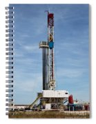 Flex Drill Rig Spiral Notebook