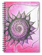 Flora Blushing Spiral Notebook