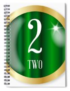 2 For Two Spiral Notebook