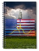 Fracking In The U.s Spiral Notebook