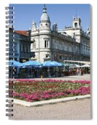 Freedom Square, Ruse, Bulgaria Spiral Notebook