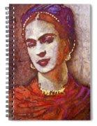 F . R . I . D . A  Spiral Notebook