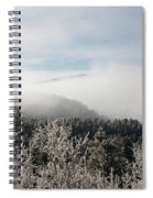Frosty Pikes Peak Spiral Notebook