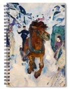 Galloping Horse Spiral Notebook