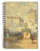 Gare Saint Lazare Spiral Notebook