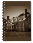 George Mason's Gunston Hall Spiral Notebook