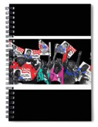 George Wallace For President Supporters Democratic Nat'l Convention Miami Beach Florida 1972-2013 Spiral Notebook