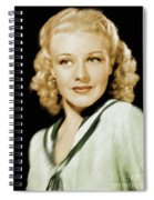 Ginger Rogers, Legend Spiral Notebook