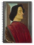 Giuliano De' Medici Spiral Notebook