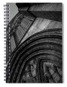 Glasgow Cathedral Bw Spiral Notebook