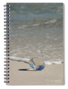 Glass Diamond On The Beach Spiral Notebook