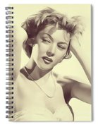 Gloria Grahame, Vintage Actress Spiral Notebook