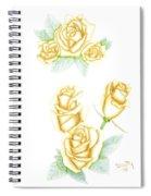 Gold Dust Spiral Notebook
