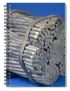 Golden Gate Bridge Cable Spiral Notebook