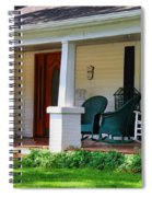Grand Old House Porch Spiral Notebook