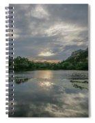 Granite Basin Lake Sunset Spiral Notebook