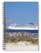 Great Stirrup Cay Spiral Notebook