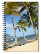 Hanalei Bay, Hammock Spiral Notebook