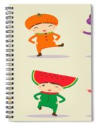 Happy Children  Spiral Notebook