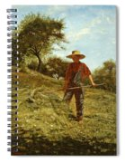 Haymaking Spiral Notebook