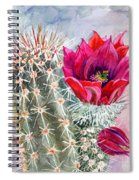 Hedgehog Cactus Spiral Notebook
