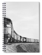 Historic Freight Train Spiral Notebook