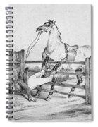 Horserider, C1840 Spiral Notebook