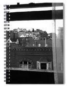 Hotel Window Butte Montana 1979 Spiral Notebook