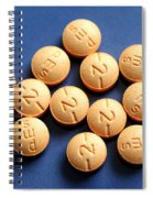 Hydromorphone 2 Mg Tablets Spiral Notebook